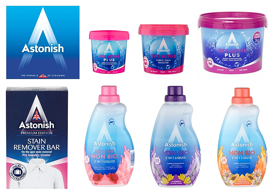 Astonish Laundry & Stain Remover Range.j