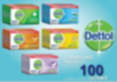 Dettol Soaps (IDR) FOB Indonesia Range $