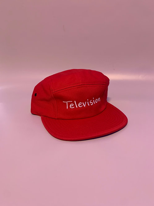 Television 5-panel (Red)