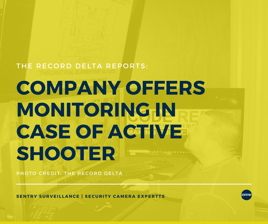 Company offers monitoring in case of active shooter