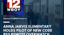 Anna Jarvis Elementary holds pilot of new Code Red Remote Overwatch Support System