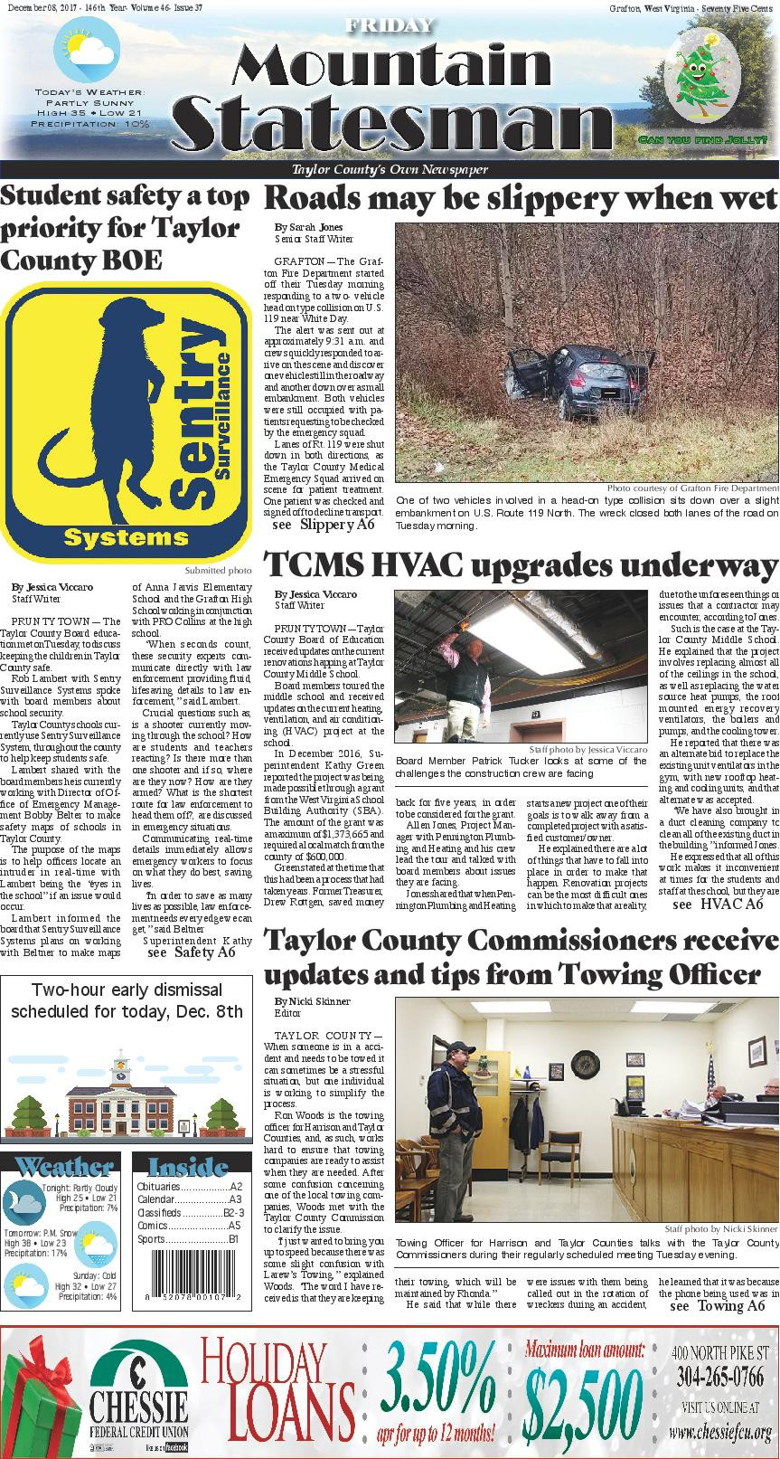 Student Safety A Top Priority For Taylor County BOE