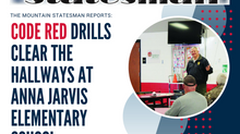 Code Red drills clear the hallways at Anna Jarvis Elementary School
