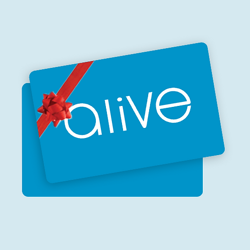 Alive Medispa Gift Voucher - $100