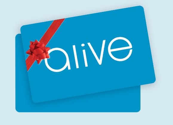 Alive Medispa Gift Voucher - $150