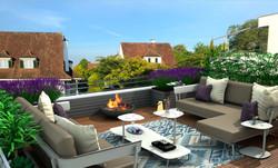 Neugegstaltung Terrasse