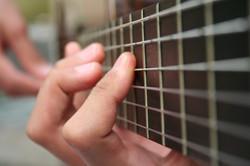 classical-guitar close-up