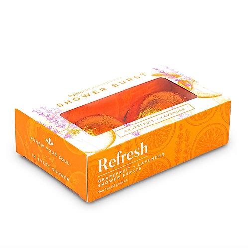 Shower Burst Duo Pack - Refresh: Grapefruit & Lavender