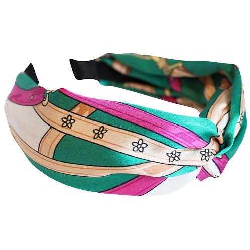 Teal Maria Scarf Headband