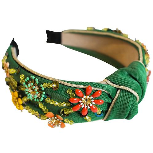 Emerald Green Claire Headband