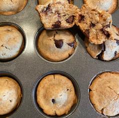 Mini Muffins de Coco y Chocolate