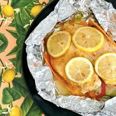 Pescado empapelado con limón 🍋 y chipotle 🔥