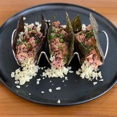"Spicy Tuna ""Tacos"""