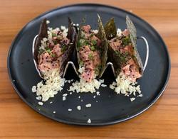 Spicy Tuna Tacos