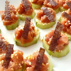 Spicy tuna bites 🐟
