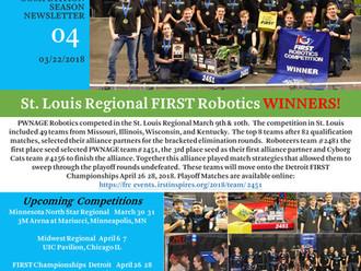 PWNAGE Newsletter #4 St. Louis Regional Winners