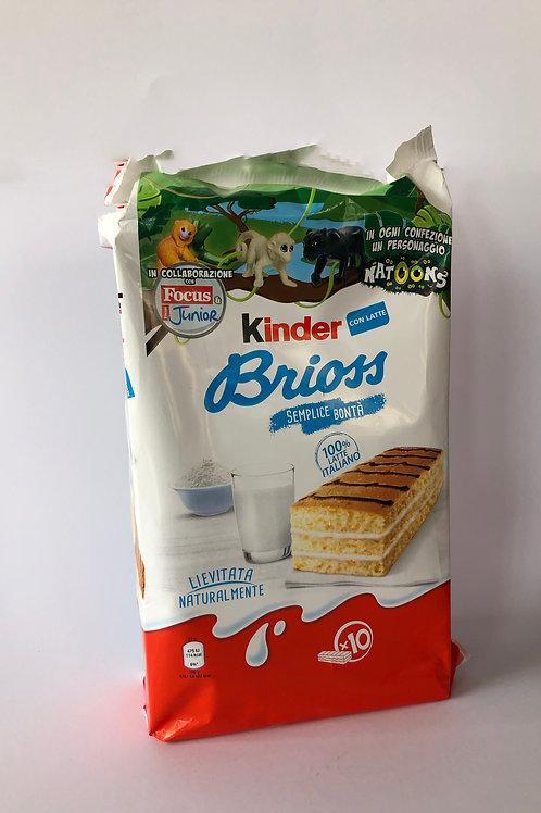 Kinder Brioss x10