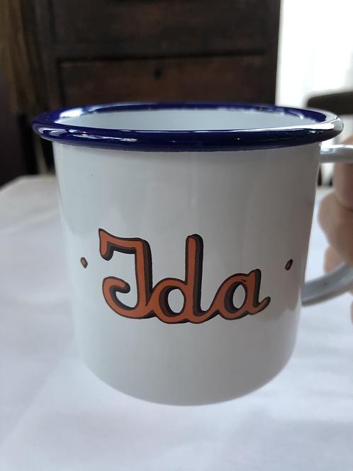 Ida tin Mug