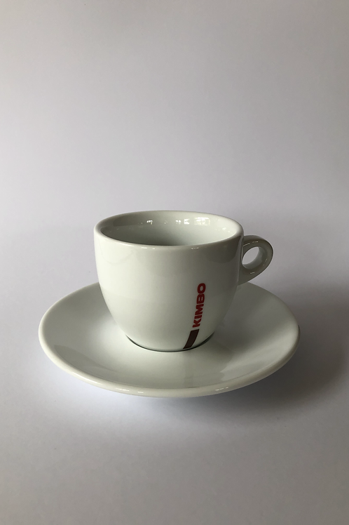 Caffè Kimbo Cappuccino Cup and Saucer