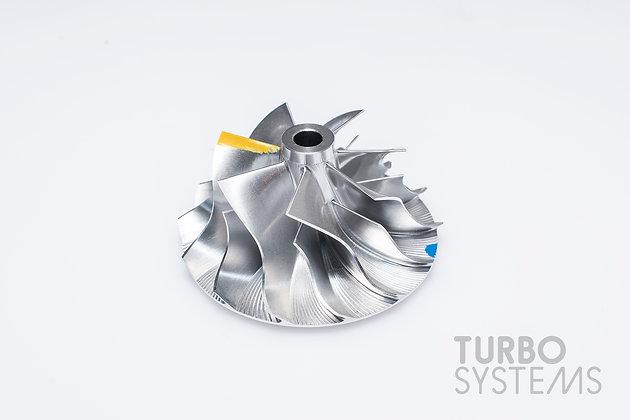 Billet Compressor Wheel for hybrid turbocharger (47.6 / 66mm)