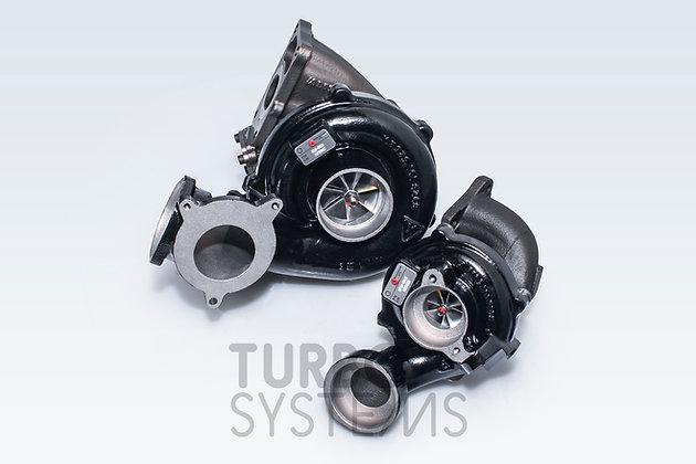 BMW M57D30TOP upgrade turbochargers kit