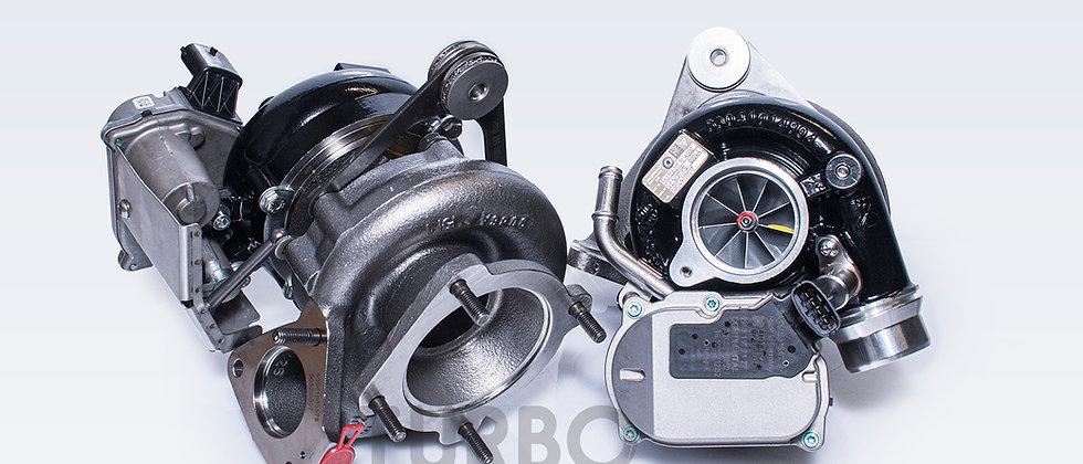 Porsche 911.2 Turbo S 3.8 upgrade turbochargers kit