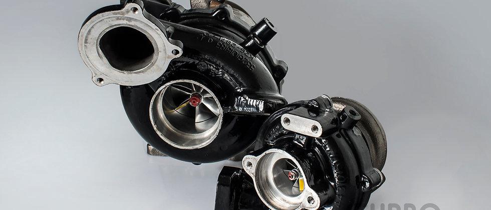 BMW M57D30TÜ2 upgrade turbochargers kit