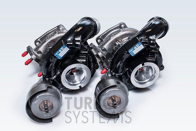 Porsche Carrera upgrade turbochargers