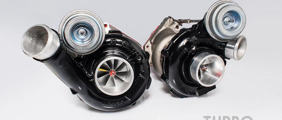 Mercedes-Benz 63 AMG upgrade turbochargers kit