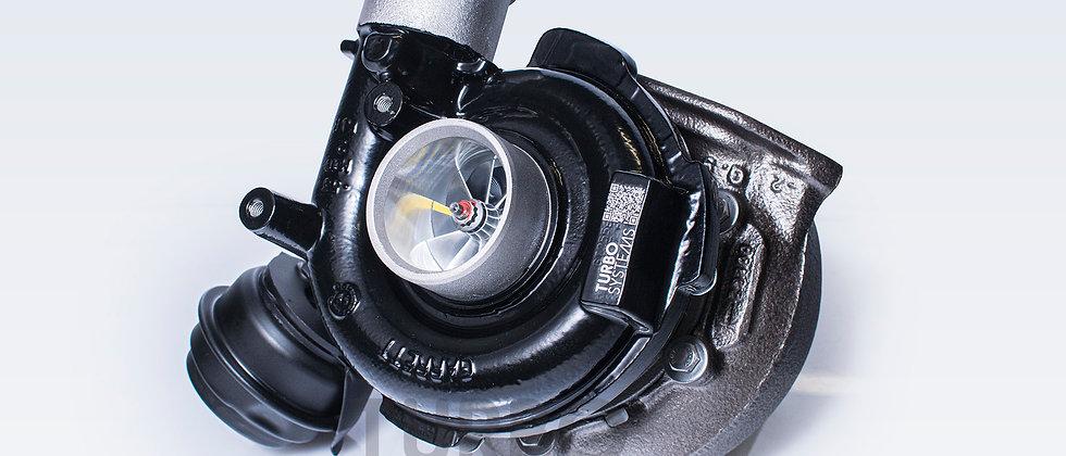 BMW M57D30 upgrade turbocharger