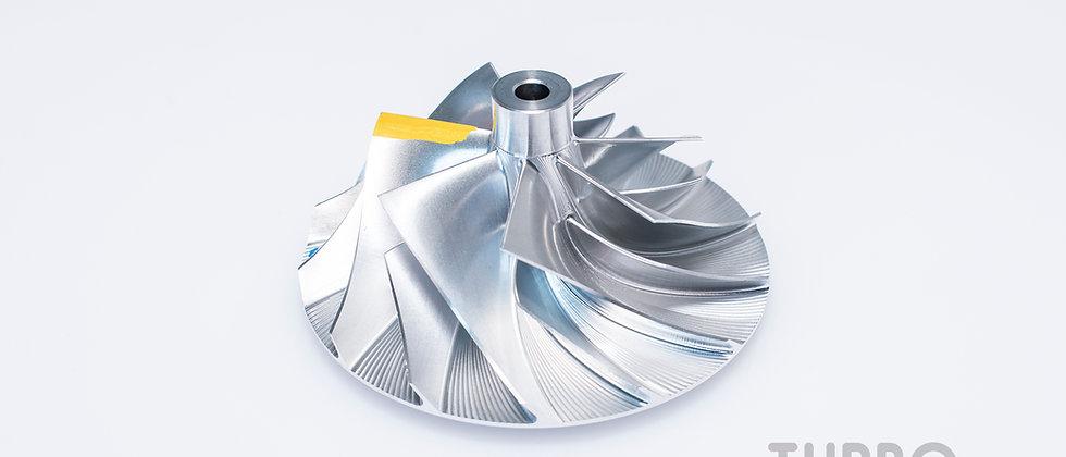 Billet Compressor Wheel for hybrid turbocharger (50 / 72.4mm)