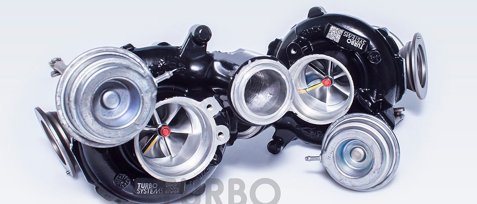 BMW N63TU upgrade turbochargers