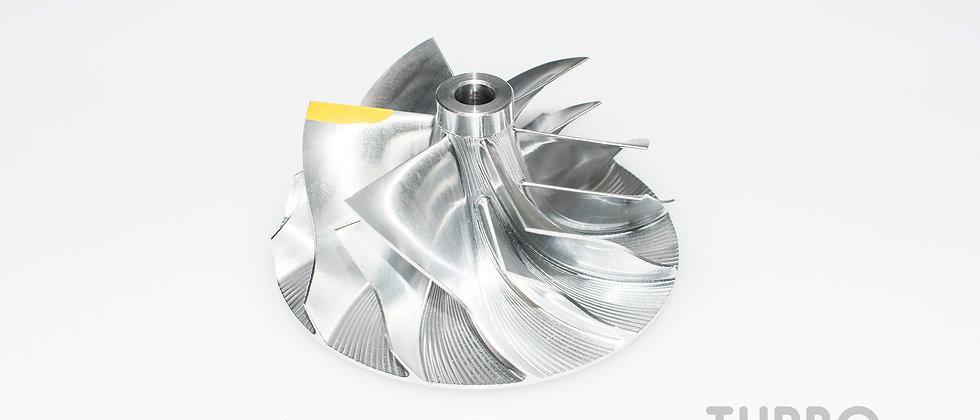 Billet Compressor Wheel for hybrid turbocharger (52 / 64mm)