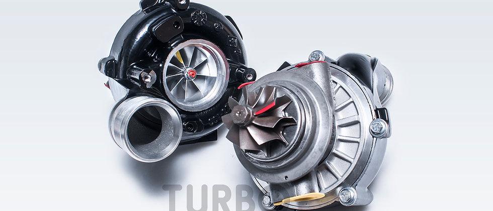 Audi 4.0l TFSI upgrade turbochargers kit STAGE 1