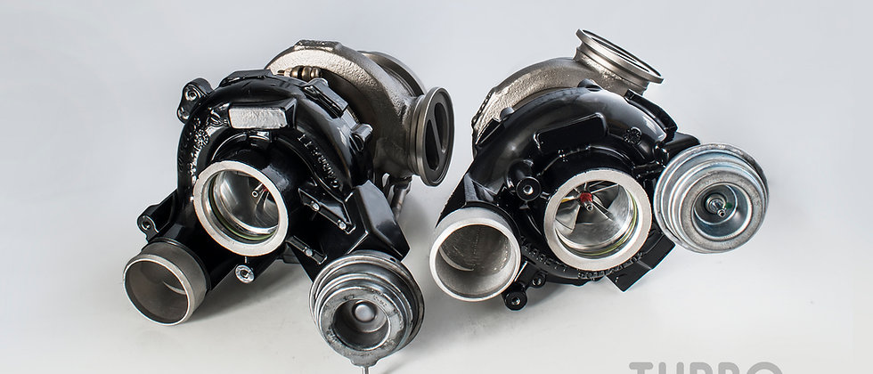 BMW S63 upgrade turbochargers kit