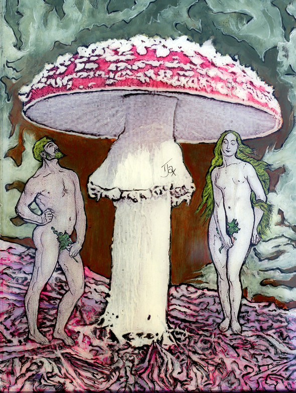 "Adam & Eve it - 8.5"" x 11"" (22 x 28cm)"