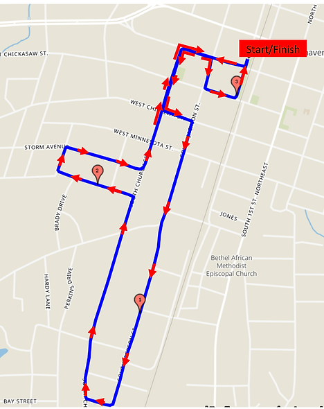 whistle stop 5K route map.png