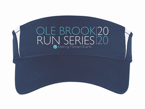 Ole Brook Run Series Visor