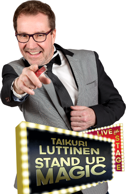Taikuri Jarmo Luttinen