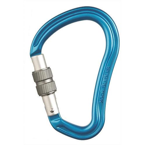 SINGING ROCK - HECTOR SCREW Carabiner Blue
