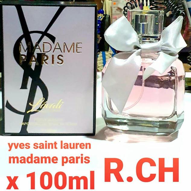 Perfume Madame Paris YSL