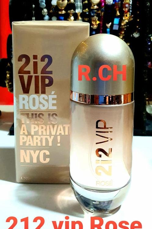 perfume 212 vip rose woman