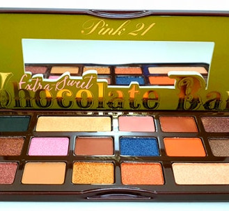 sombras pink 21 chocolate