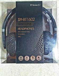 Auriculares Bluetooth Recargables Wireless Sy-bt1602