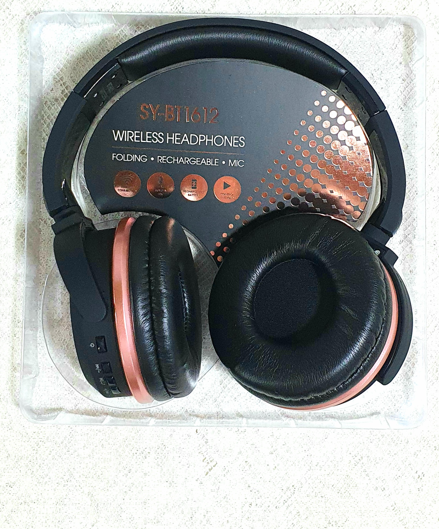 auriculares sy-bt1612