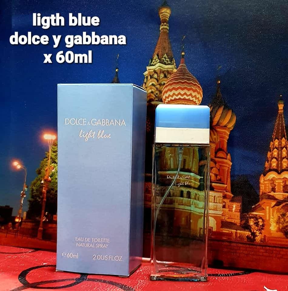 perfume ligth blue dama