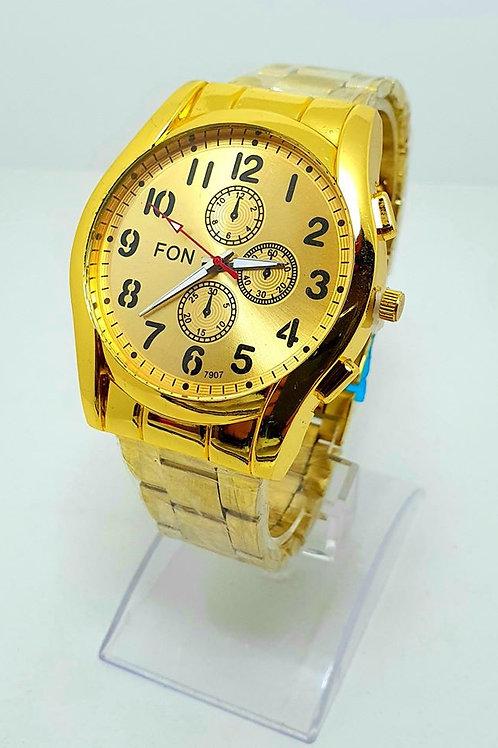 Relojes de hombre dorados