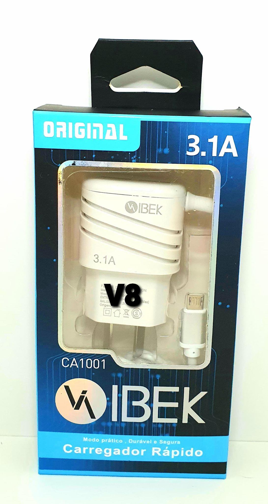 cargador puerto v8