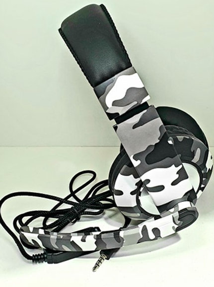 Auriculares Gamer Headset Camuflado Ps4 Xbox Pc Microfono