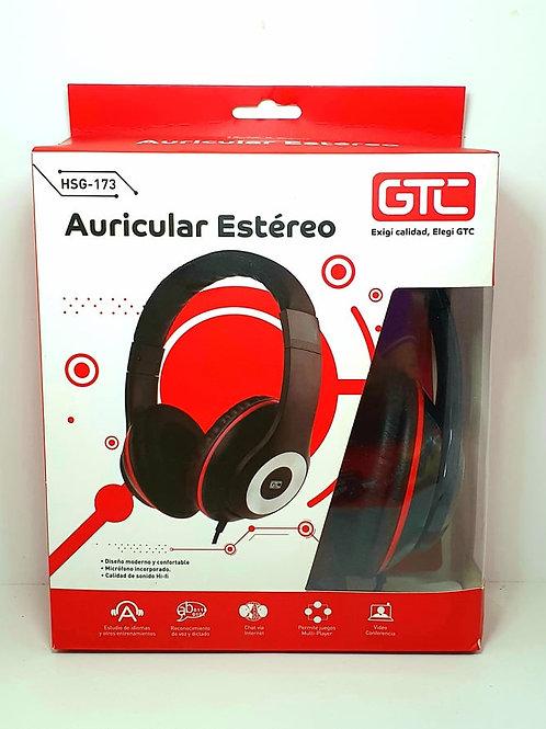Auricular GTC HSG-173 para juegos y musica